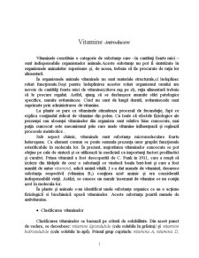 Vitaminele A, D și K - Pagina 1