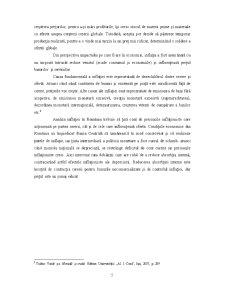 Analiza Strategiei de Țintire Directă a Inflației în România - Pagina 5