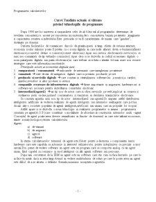 Tendinte Actuale si Viitoare Privind Tehnologiile de Programare - Pagina 1