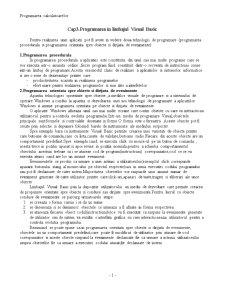 Programarea in Limbajul Visual Basic - Pagina 1