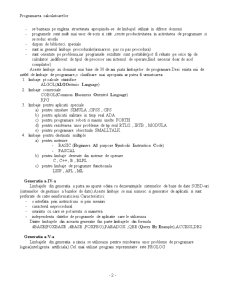 Evolutia Limbajului de Programare - Pagina 2