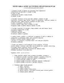 Audit Bancar - Pagina 1
