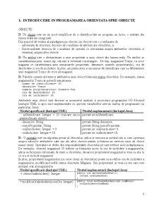 Programarea Orientata spre Obiecte - Limbajul Java - Pagina 3