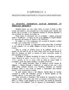 Sistemul Bancar Românesc - Pagina 3