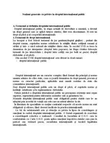 Drept Internațional - Pagina 1