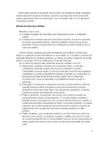 Cauzele Inflatiei Monetare - Consecinte - Deflatia Monetara - Pagina 3