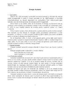 Energia Nucleară - Pagina 1