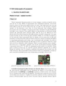 Bazele Hardware - Pagina 1