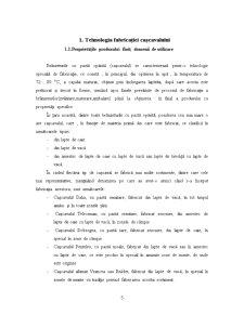 Sectie de Prelucrare a Laptelui, in Vederea Obtinerii de Cascaval Dalia - Pagina 5