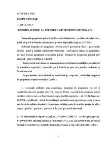 Drept Funciar - Pagina 1