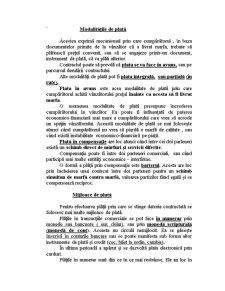 Modalitățile de Plată - Pagina 1