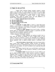 Realizarea Site-urilor - Pagina 4