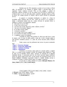 Realizarea Site-urilor - Pagina 5