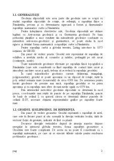 Geodezie Elipsoidală - Pagina 2