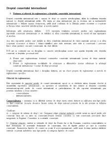 Dreptul Comertului International - Pagina 1