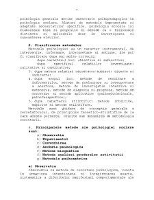 Metode de Investigare a Personalitatii Umane - Metodele Psihologiei Scolare - Pagina 4