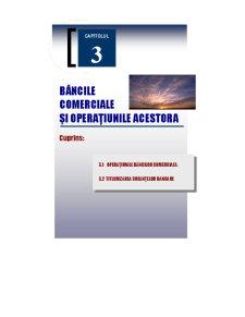 Băncile Comerciale și Operațiunile Acestora - Pagina 1