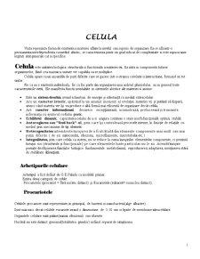 Celula - Pagina 1