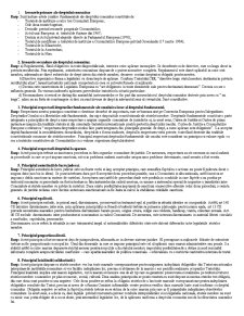 Drept si Legislatie Comunitara - Pagina 1