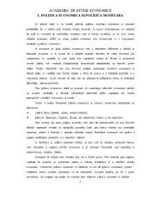 Politica Monetara - Pagina 4