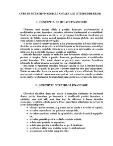 Situatii Financiare Anuale ale Intreprinderilor - Pagina 1