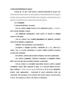 Contract Individual de Muncă - Pagina 1