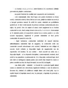 Contract Individual de Muncă - Pagina 2