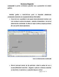 Modelarea Regiunilor - Proiectare Asista de Calculator - AutoCad - Pagina 5