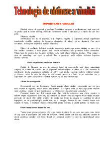 Tehnologia de Obtinere a Vinului - Pagina 1