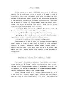 Biologie Marină - Pagina 1