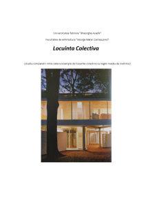 Arhitectura - Locuinta Colectiva - Pagina 1