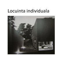 Locuinta Individuala - Pagina 1