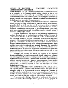 Actori și Instituții - Pagina 1