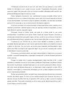 Interdependențele Complexe dintre Economiile Naționale în Condițiile Globalizării - Pagina 3