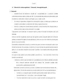 Tulburari in Sinteza Globinei - Talasemii, Hemoglobinopatii - Pagina 1