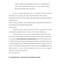 Tulburari in Sinteza Globinei - Talasemii, Hemoglobinopatii - Pagina 2