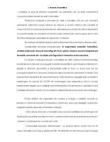 Tulburari in Sinteza Globinei - Talasemii, Hemoglobinopatii - Pagina 3