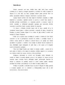 Principalele Operatiuni Bancare - Intermedierea Bancara - Pagina 3