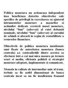 Strategii și Politici Monetare - Pagina 2