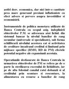 Strategii și Politici Monetare - Pagina 3