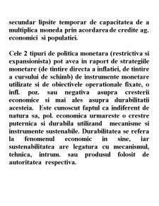 Strategii și Politici Monetare - Pagina 4