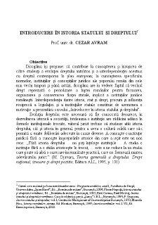 Introducere în Istoria Dreptului - Pagina 1
