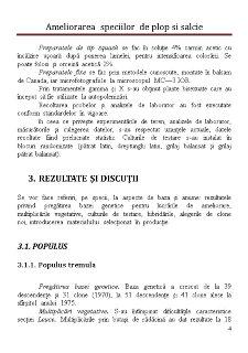 Ameliorarea Speciilor de Plop si Salcie - Pagina 4