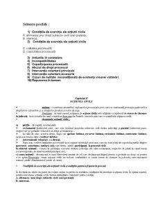 Elemente de Procedura Civila - Pagina 1