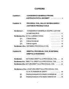 Noțiunea și Sistemul Procesului Civil și ale Dreptului Procesual Civil - Pagina 2