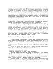Drept Civil - Drepturile Reale - Pagina 3