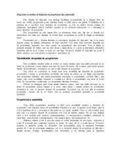 Drept Civil - Drepturile Reale - Pagina 4