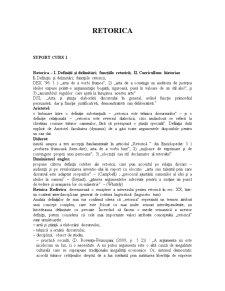 Retorica - Pagina 1