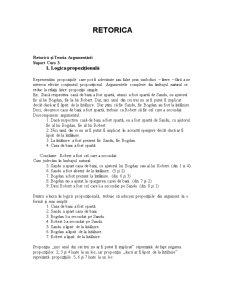 Retorica 3 - Pagina 1