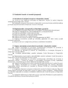 Drept European al Drepturilor Omului - Pagina 2